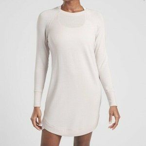 Athleta Mindset Sweatshirt Dress Opal Crewneck